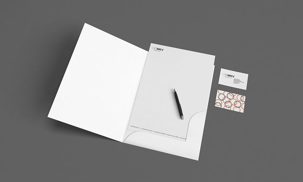 Návrh vizuálního stylu MKV Ozubená kola tiskoviny