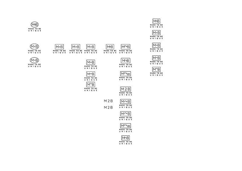 Proces tvorby loga první korektura