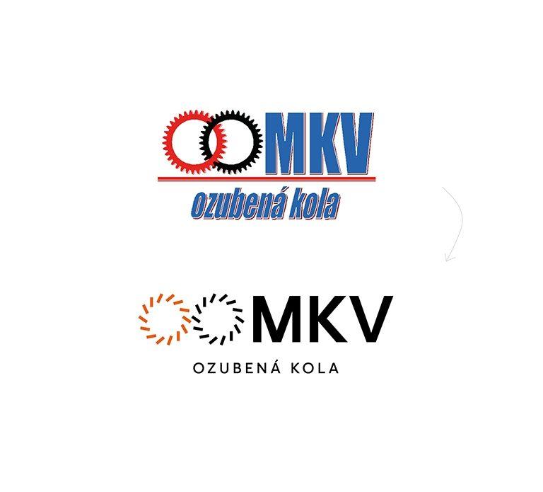 Redesign loga MKV Ozubená kola