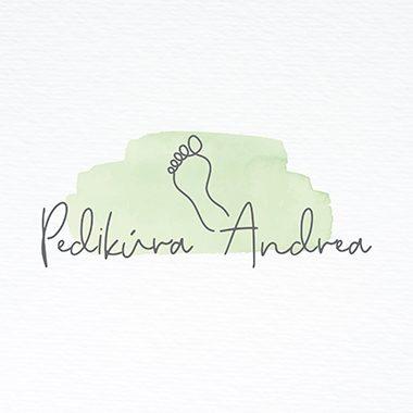 Tvorba loga a tiskovin na míru Pedikúra Andrea portfolio