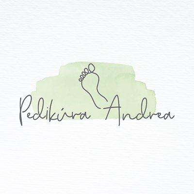 Tvorba loga na míru Pedikúra Andrea