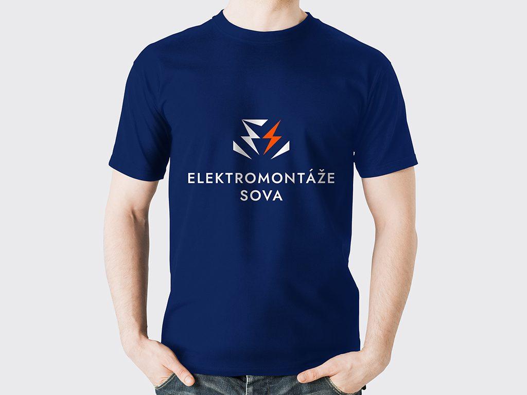 Náhled loga na tričku