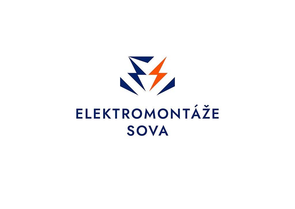 Tvorba loga na míru Elektromontáže Sova