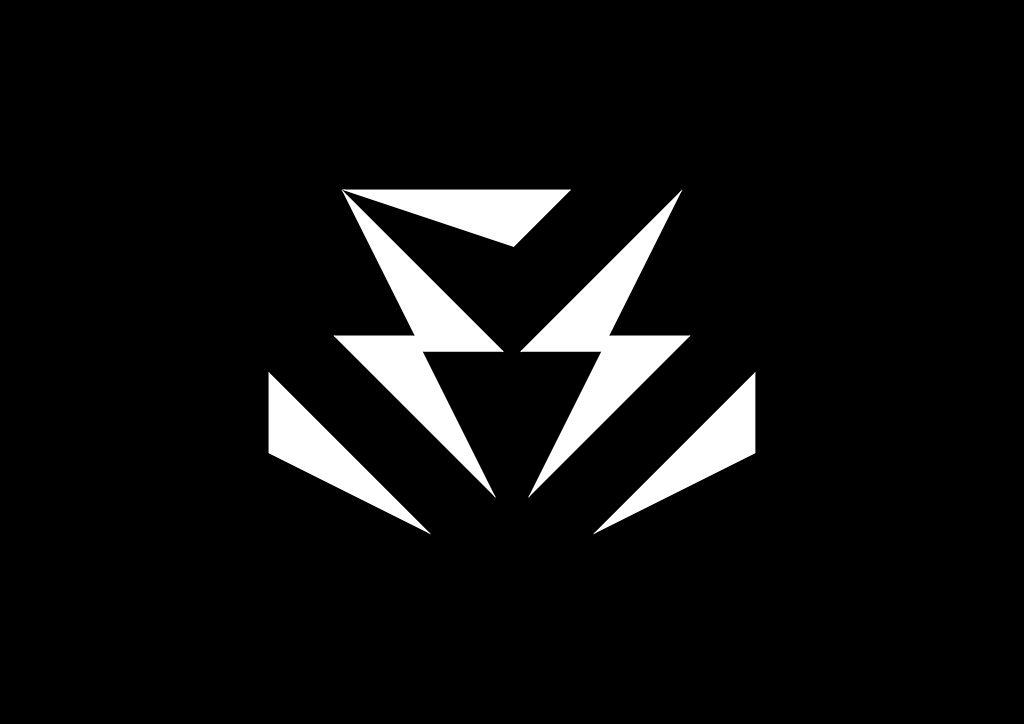 Tvorba loga na míru Elektromontáže Sova symbol černobílý