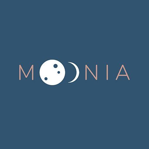 Tvorba loga na míru Moonia