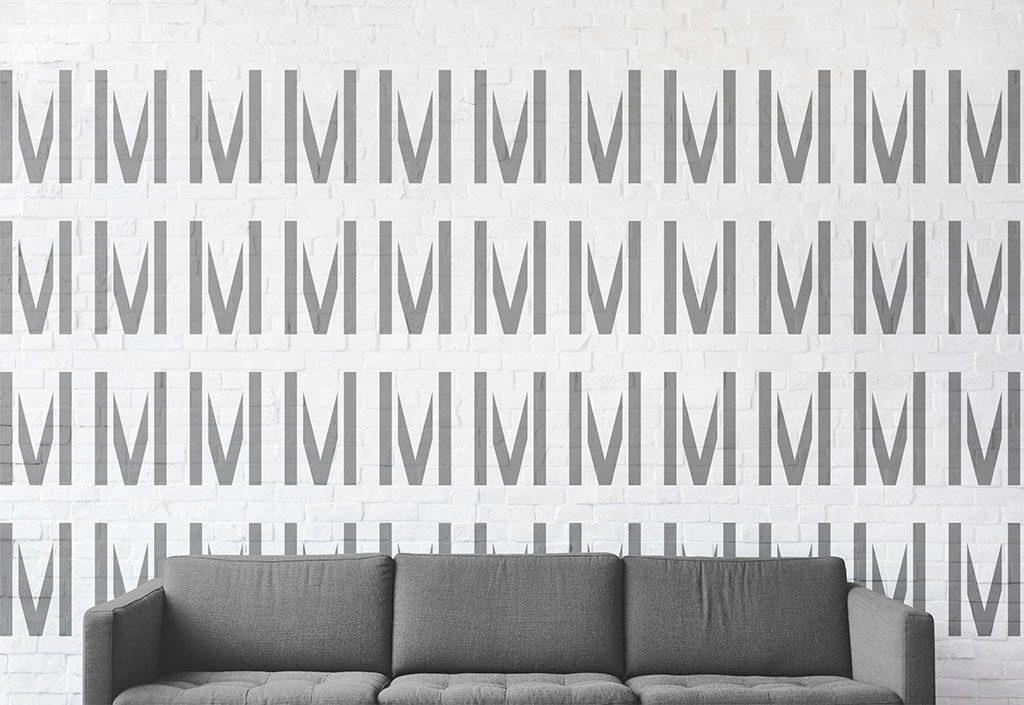Nehtové studio Magdalena možnost použití vzoru na zeď