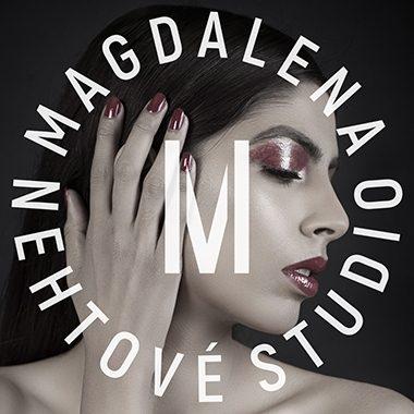 Tvorba loga Nehtové studio Magdalena portfolio